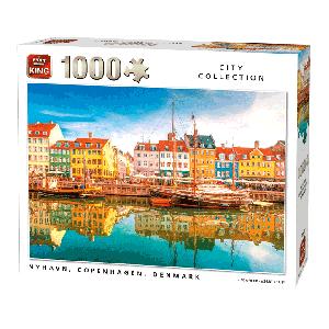 Puzzel Nyhavn Denmark (1000 stukjes)