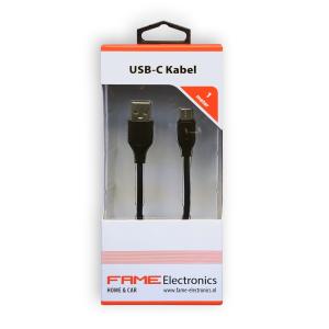 Micro USB- C kabel 1 meter Fame Electronics
