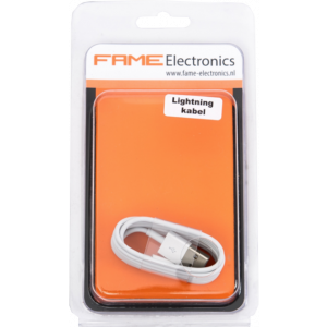 Lightning kabel USB 1 meter Fame Electronics