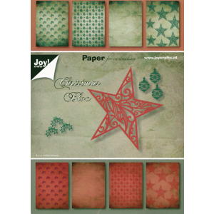 Joy papierblok Christmas bloc 32vel