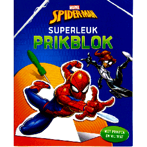 Spiderman superleuk prikblok