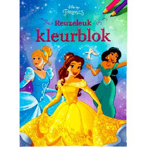 Princess reuzeleuk kleurboek