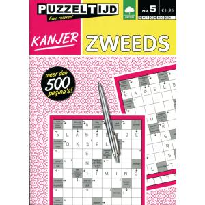 Puzzelboek Kanjer Zweeds nr. 5