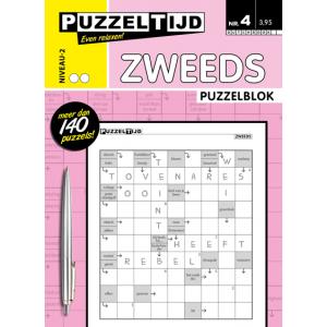 Puzzelblok zweeds 2 punt nr.4 puzzelboek