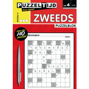 Puzzelblok zweeds 3 punt nr. 4