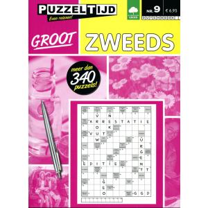 Puzzelboek Groot Zweeds nr. 9 Puzzeltijd