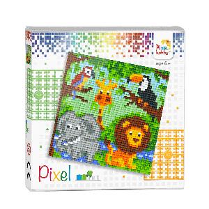 Pixelhobby Pixel set dierenrijk