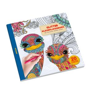 Glitter Kleurplatenboek animals