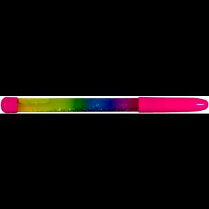 Plastic pen, liquid glitter
