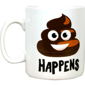 Mug Shit happens