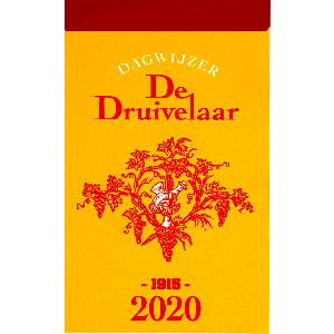 Dagblokkalender De Druivelaar 2020