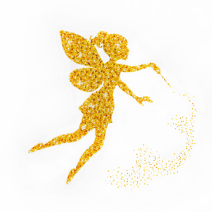 Miniart Crafts Golden Fairy 40 x 40 cm