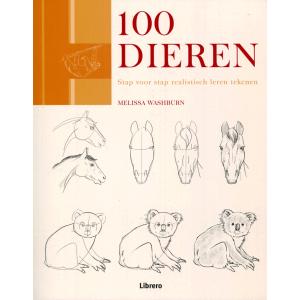 100 Dieren stap voor stap realistisch tekenen
