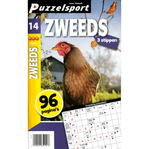 Puzzelsport 96 p. zweeds 3 stippen nr. 014