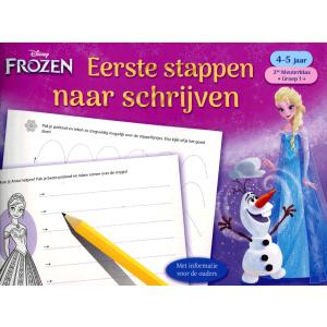 Eerste stappen naar het schrijven 4-5 jaar Frozen