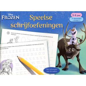 Speelse schrijfoefeningen 5-6 jaar Frozen