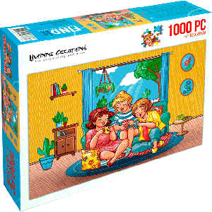 Legpuzzel Bubbly Girls (YC) Thee drinken 1000 stukjes