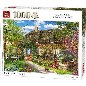 Legpuzzel van een oude cottage 1000 stukjes