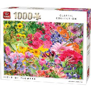 Legpuzzel Field of Flowers 1000 stukjes