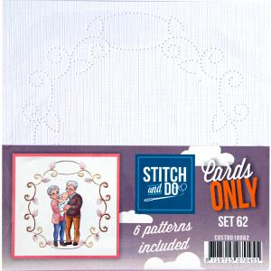Stitch & Do cards only set 62