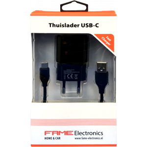 Thuislader USB-type C Fame Electronics