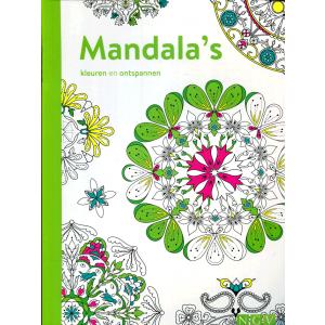 Mandala's kleuren en ontspannen