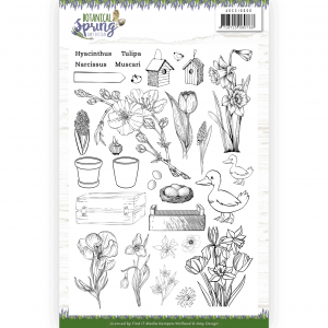 Stempelset botanical spring Amy Design