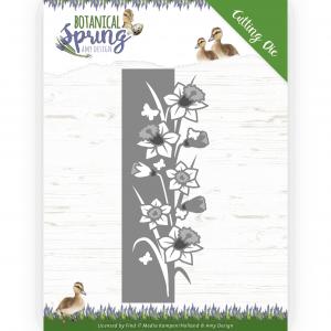 Snijmal daffodil Border Botanical Spring Amy Design