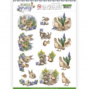 3D Pushout vel Best Friends Botanical Spring Emy Desgin