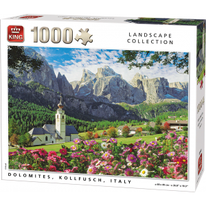 Legpuzzel Dolomites, Kollfuchs Italie 1000 stukjes