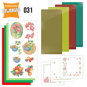 Sparkles set 31 botanical spring amy design