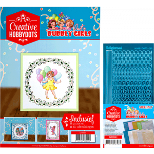 Creatieve hobbydots set 1 inclusief stickers Bubbly Girl
