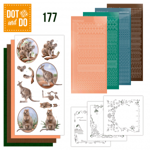 Dot & Do nr. 177 Wild Animals van Amy Design