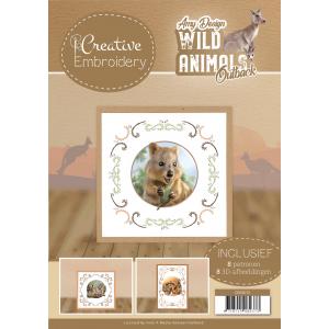 Borduurboek 13 Amy Design Wild Animals Outback