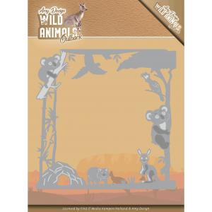Amy Design Wild Animals Outback snijmal Koala Frame