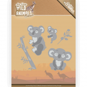 Amy Design Wild Animals Outback snijmal koala