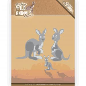 Amy Design Wild Animals Outback snijmal kangaroo