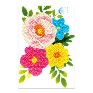Craft Artist Diamond Art Card Kits bloem
