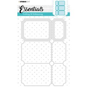 Snijmal ticketmal nr279 drieluik van Essentials
