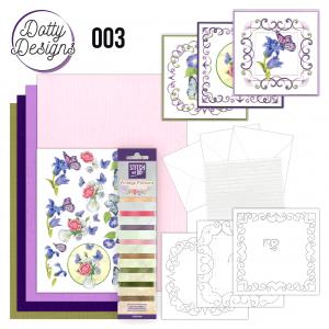 Dotty Designs special 3 Vlinders borduren