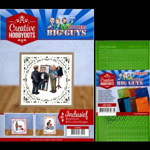 Creatieve hobbydots set 2 inclusief sticker set big guys workers