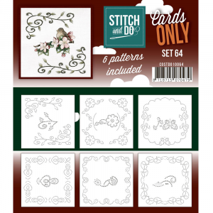 Stitch & Do Cards only set nummer 64