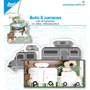 Stans-debos-embossingmal van Joy Crafts auto/caravan serie mei 20