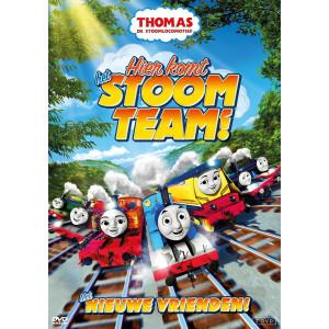 Thomas de stoomlocomotief - Hier komt het stoom team