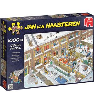 Legpuzzel Jan van Haasteren Kerstavond, 1.000 stukjes