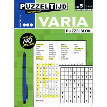 Puzzelblok varia 3 punt nr. 005 puzzeltijd