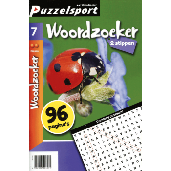 Puzzelsport 96 p. woordzoeker 2 stippen nr. 7