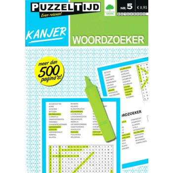 Puzzelboek Kanjer Woordzoeker nr. 5