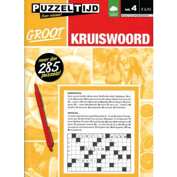 Puzzelboek Groot Kruiswoord nr. 4