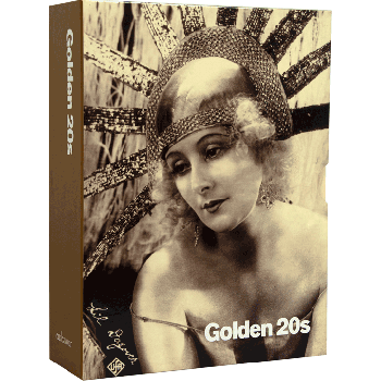 Photo greeting card collection golden 20s